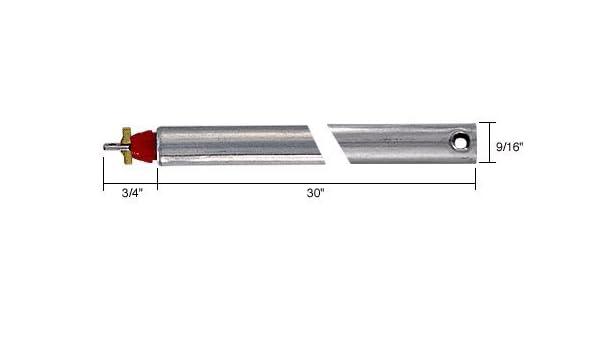 "19/"" Tubular Spiral Non-Tilt Window Balance Red Bushing"