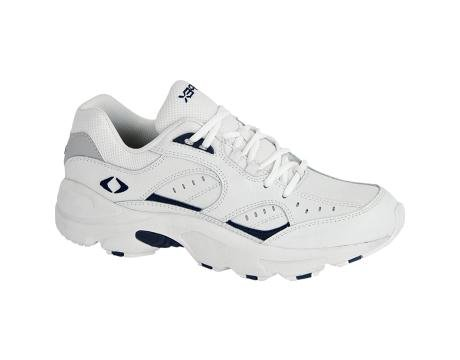 Apex Lace V Walker Men's Walking 15 3E US White-Blue (Blue Mens Walker)