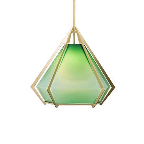 FFLJT Colgante del accesorio ligero de cristal de montaje empotrado iluminacion pendiente de la isla de cocina Dormitorio Bar Sala Comedor granja