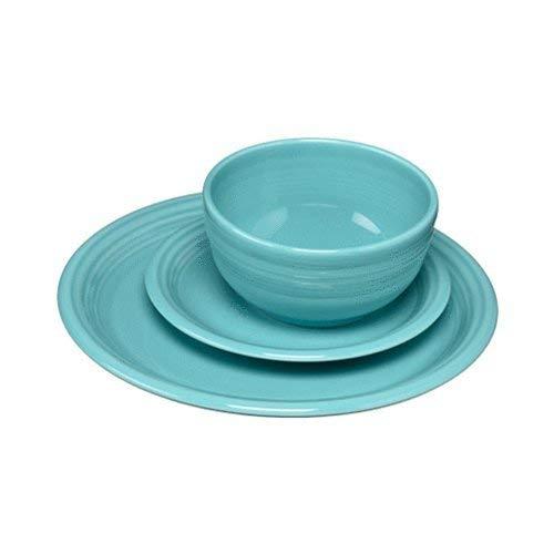 - Fiesta 107-1482 3 Piece Bistro Set, Turquoise
