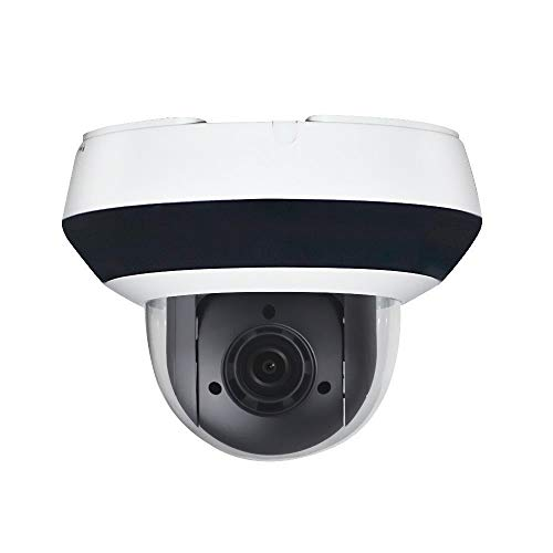 4MP HD POE Mini PTZ IP Camera OEM DS-2DE2A404IW-DE3,Pan Tilt 2.8mm 12mm 4X Optical Zoom 20m IR Night Vision 2560X1440 Audio Interface Smart H.265 , Support 256G SD Card Recording IP66 and IK10