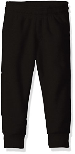 American Hawk Little Boys' Fleece Jogger Pant, Black, 7 Boys Knit Pants