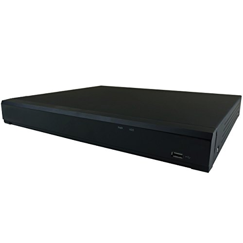 HDView (Enterprise Series) Intelligent 8 Channel NVR with 8 Port PoE, Intrusion, Crossing Line, Face Detection, Defocus, Scene Change, People Counting, Audio Detection, 9:16 Corridor Mode, ONVIF (8 Port Multi Channel)