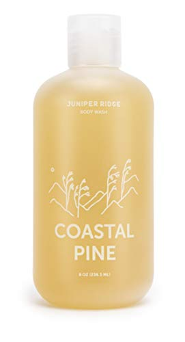 Wash Body Pacific Scented - Juniper Ridge | Coastal Pine Body Wash | Concentrated Castile Soap | Organic Oils | No Synthetic Fragrance | Multi Use | 8 oz Bottle