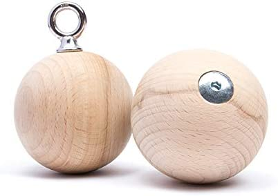 DIDAKs Wood Dragon Balls 80mm x2
