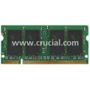 Crucial 4Gb Ddr2 Sdram Memory Module . 4Gb . 667Mhz Ddr2. 667/Pc2. 5300 . Non. Ecc . Ddr2 Sdram . 200. Pin Sodimm