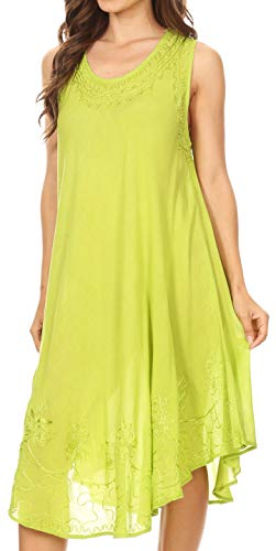 Lime Sakkas Up cover Tank Essentials Giorno Dress Caftano Ogni P4FpqT