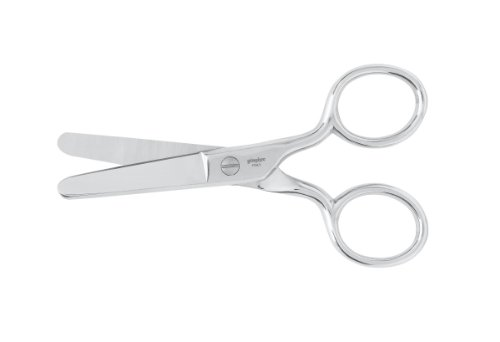 - Gingher 220030-1002 Rounded Pocket Scissors, 4-Inch