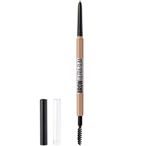Maybelline New York Brow ultra slim defining eyebrow pencil, Light Blonde, 0.003 Ounce