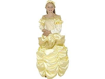 DISONIL Disfraz Princesa Bella Niña Talla S: Amazon.es: Juguetes y ...