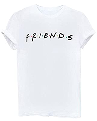 FCYOSO Teen Girl Funny T Shirts Women Cute Cotton Tops