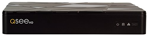 (Q-See QT878-2 8-Channel 4MP H.265 HD IP NVR with 2TB Hard Drive, Standalone Surveillance System (Black))