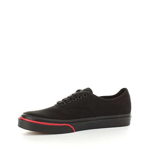 Vans Sneakers Authentique Total Noir-fiamma 8emq8q - 43, Nero