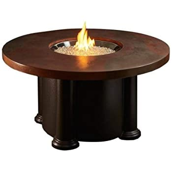 Amazon.com: Fire Pit Table with Round Acid Wash Top