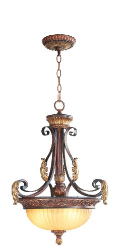 Verona Collection Pendant (Livex Lighting 8567-63 Villa Verona Inverted Pendant)
