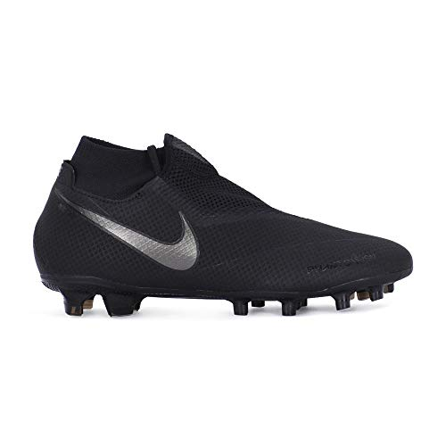 Nike Hypervenom Phantom Vision Pro DF FG Soccer Cleat (Black) (Men's 9.5/Women's 11)
