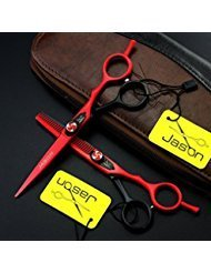 JASON 6.0 Inch Professional Hair Cutting & Thinning Scissors JP440C Barber Salon Hairdressing Shears from JASON