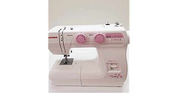 PINK 12 by Janome: Amazon.es: Hogar