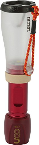 Dk Dimmer (UCO Leschi 110 Lumen Compact LED Lantern and Flashlight with Dimmer and Strobe, Red)