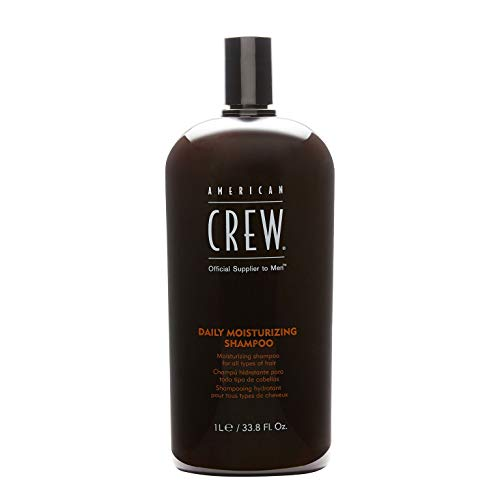(American Crew Daily Moisturizing Shampoo 33.8oz/1000ml)