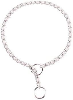 de acero cromado largo 35 cm Collar de adiestramiento para perros Nobleza