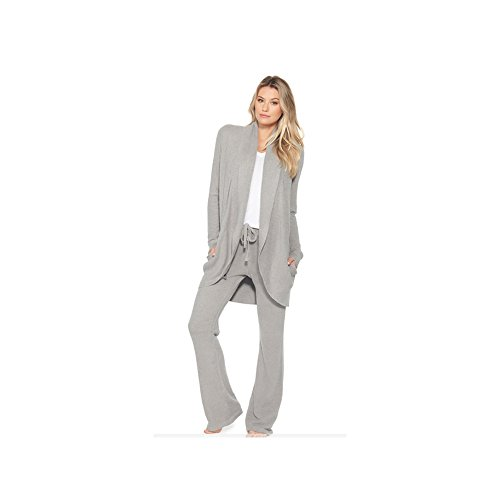 Barefoot Dreams Bamboo Chic Lite Circle Cardi (X-Large, Pewter) by Barefoot Dreams