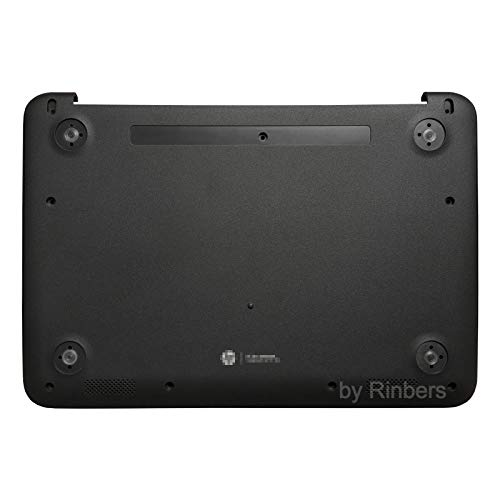 Hewlett Packard Rubber Foot - Rinbers Laptop Lower Bottom Case Base Cover Enclosure Without Rubber Feet for HP Chromebook 11 G4 EE 851133-001