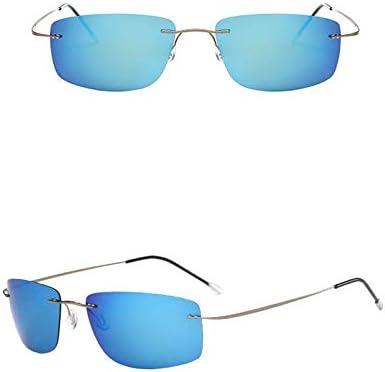 Sonnenbrillen Summer Tac Titanium Frameless Sonnenbrillen Männer Polarisierte Luxus Männer und Frauen Sonnenbrillen Classic Retro Shopping Uv400 Outdoor