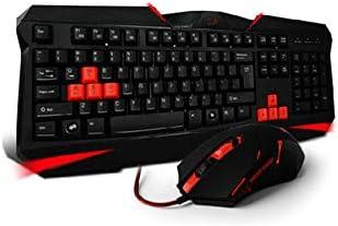 GXYAS Teclado Ordinario Teclado ratón Teclado Gaming Teclado ...
