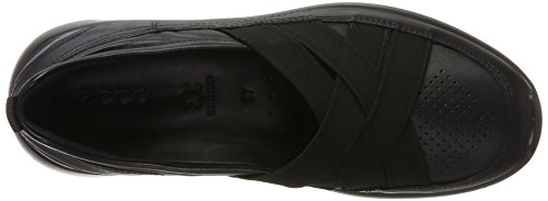 Ecco Dames Soft Slipper 5 Black (zwart)