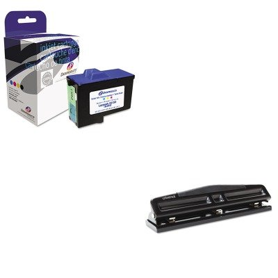 Dpcd7y745c Compatible Ink (KITDPSDPCD7Y745CUNV74323 - Value Kit - Dataproducts DPCD7Y745C Compatible Remanufactured Ink (DPSDPCD7Y745C) and Universal 12-Sheet Deluxe Two- and Three-Hole Adjustable Punch (UNV74323))