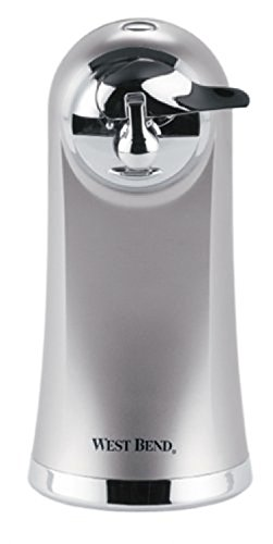 West Bend 77203 Electric Can Opener, Metallic, New, ;(supply