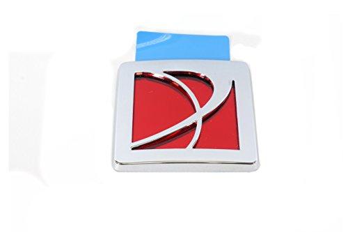 OEM NEW Trunk Lid Logo Emblem Badge Chrome Red 07-10 Saturn Sky (Red Trunk Lid)