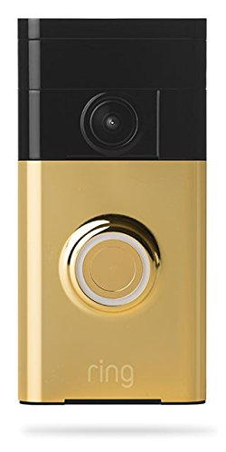 Ring Wi-Fi Enabled Video Doorbell Polished Brass