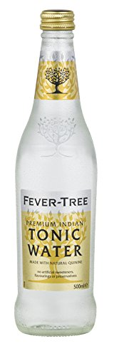Fever-Tree Premium Indian Tonic Water, 16.9 Fl Oz Glass Bottle (8 ()