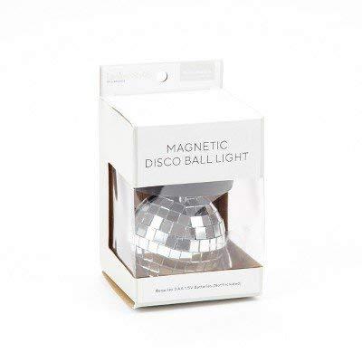 Locker Style153; Disco Ball LED Light Decoration - Silver Silver