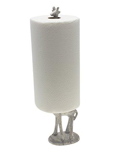 Paper Towel Holder Or Free Standing Toilet Paper Holder Cast Iron Giraffe Paper Holder