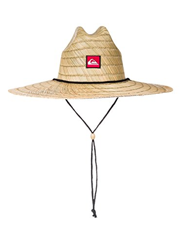 Quiksilver Young Men's Pierside Straw Hat Hat, -natural, (Straw Hat)