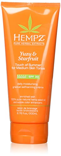 Hempz Yuzu & Starfruit Touch Of Summer Moisturizing Gradual Self-tanning