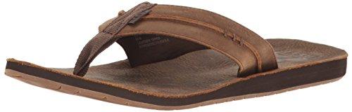 Reef Men's Marbea WP Sandal Flip-Flop - Dark Brown - 7 M US