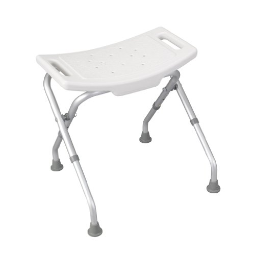 Plastic Folding Stool Step Chair Shower Bath Seat Portable