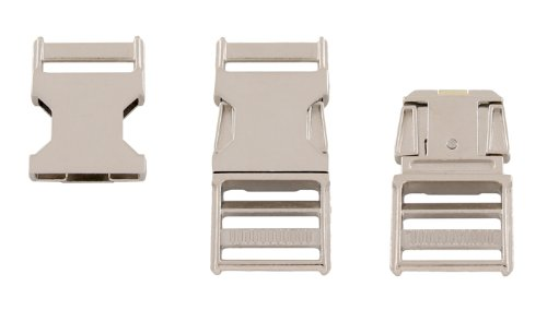 4 - Country Brook Design 1 Inch Metal Side Release Buckles (Contoured Side Release Buckle 3 4 compare prices)
