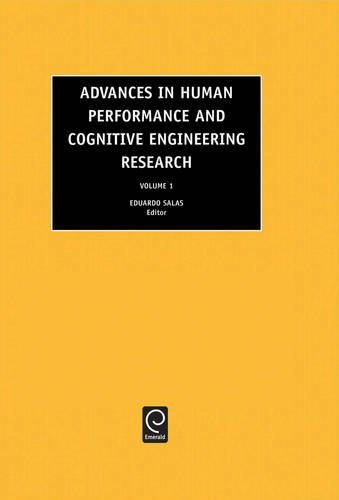 Advances in Human Performance and Cognitive Engineering Research, Volume 1