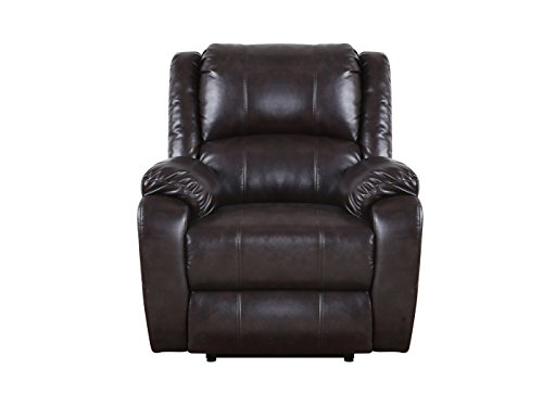 Bonded Leather Power Electric Recliner Living Room Chair Furniture Chairs Arm Chairs Recliners