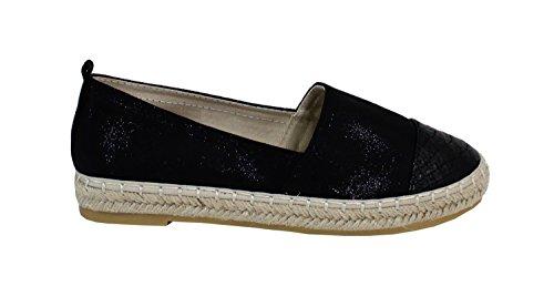 Donna Shoes Espadrillas By Basse Nero xpq6Oq0t