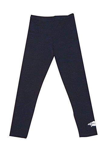 (Stingray Black UV Sun Protective Swim Tights for Boys & Girls- Swim Pants - Sun Protection Swimming Leggings - sizes 4-14. (4))