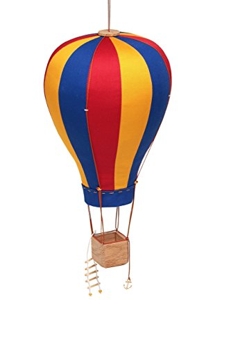 Hanging Textile Hot Air Balloon Kid Room Baby Decor Large (Balloon Hot Small Air)