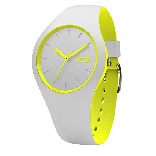 Ice-Watch – Ice Duo Grey Yellow – Wristwatch with Silicon Strap – 001500 (Medium)
