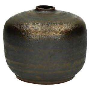 Stylish Cover Vaso Ceramica Colore Bronzo, Modello Sfera PM, Diametro 10,5–H10,5