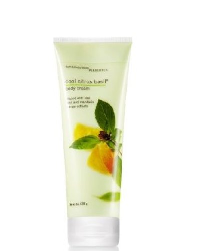 Bath & Body Works Pleasures Classics Cool Citrus Basil Body Cream 8oz/226g ()